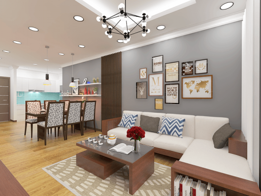 """""""Bỏ túi"""" kinh nghiệm thiết kế nội thất chung cư"""