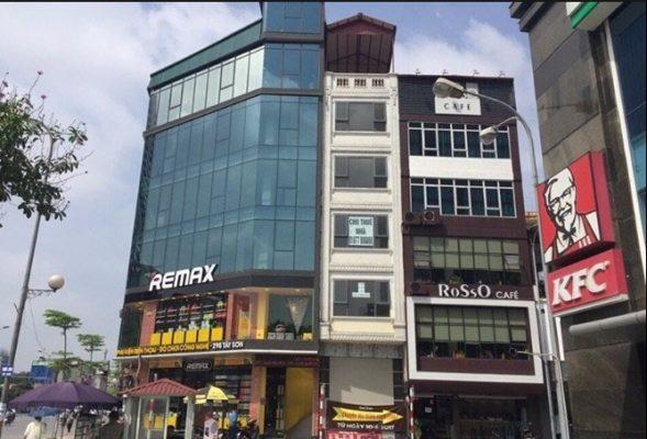 Cho thuê nhà 5 tầng mặt phố Vũ Phạm Hàm, Cầu Giấy rất đẹp