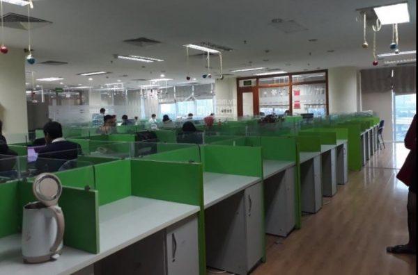 Thuê văn phòng setup đầy đủ tiện nghi làm việc tại tòa nhà Viglacera số 1 đại lộ Thăng Long
