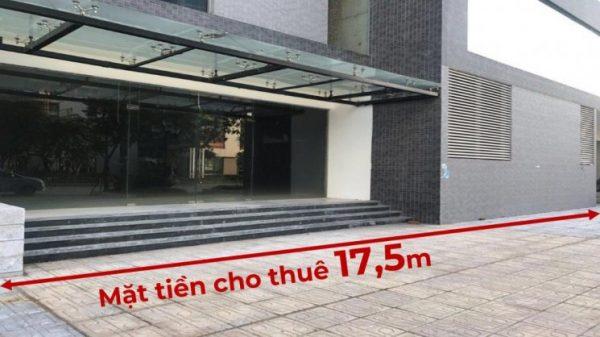 Cho thuê kiot tầng 1 tòa tháp đôi chung cư học viện Bộ quốc phòng