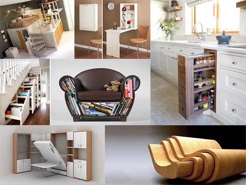 Những ý tưởng thiết kế nội thất thông minh cho nhà nhỏ hiện đại