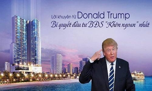 Tổng hợp những lời khuyên đầu tư bất động sản Donald Trump