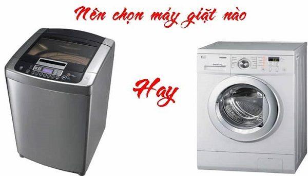 Mua máy giặt cửa đứng hay cửa ngang thì tốt hơn?